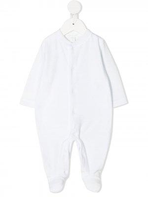 Пижама Angel Wings с контрастными пуговицами Marie-Chantal. Цвет: синий