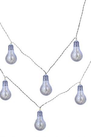 Гирлянда из 8 лампочек DUE ESSE CHRISTMAS. Цвет: серебро