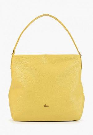 Сумка Nardelli. Цвет: желтый