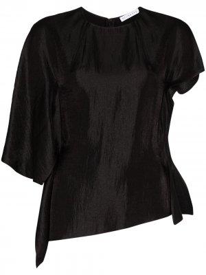 Блузка Evie асимметричного кроя Rejina Pyo. Цвет: черный