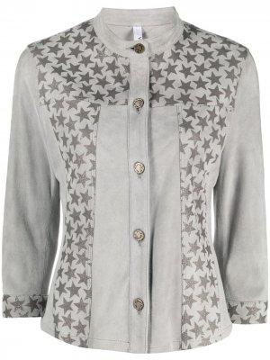 Куртка с принтом Suprema. Цвет: серый