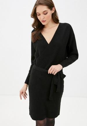 Платье Vero Moda Curve. Цвет: черный
