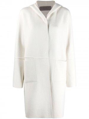 Кардиган-пальто D.Exterior. Цвет: нейтральные цвета