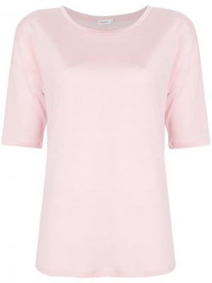 Топ с укороченными рукавами Filippa-K. Цвет: розовый