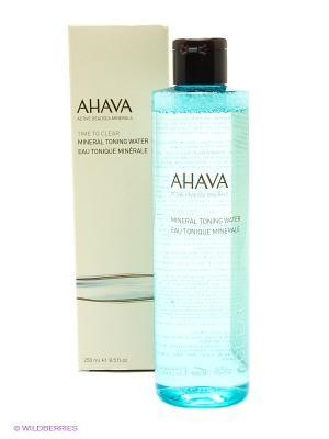 Лосьон минеральный тонизирующий для лица AHAVA. Цвет: прозрачный