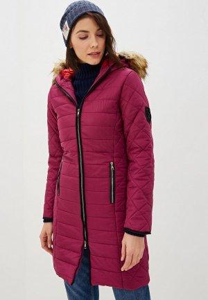 Куртка утепленная Giorgio Di Mare. Цвет: фиолетовый