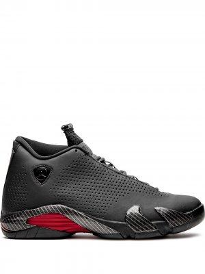 Высокие кроссовки Air  14 Black Ferrari Jordan. Цвет: черный