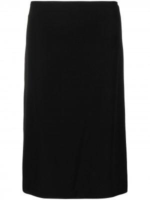 Юбка прямого кроя Nina Ricci. Цвет: черный