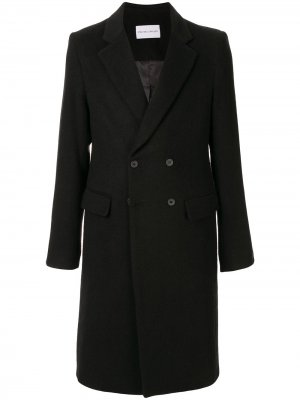 Фетровое пальто Plated Surgical Strateas Carlucci. Цвет: черный