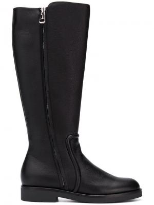 Side zip boots Bally. Цвет: 0100 black