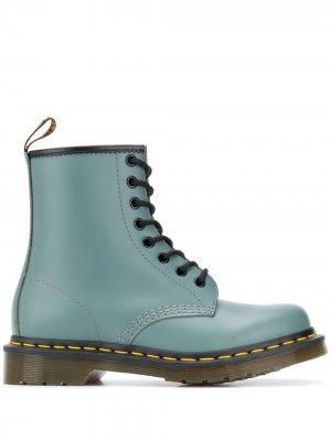 Ботинки на шнуровке Dr. Martens. Цвет: серый