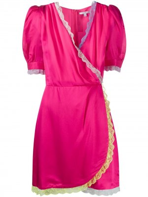 Платье мини Lena Olivia Rubin. Цвет: розовый
