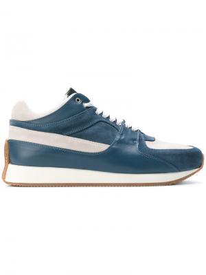 Кроссовки на шнуровке Kris Van Assche. Цвет: синий