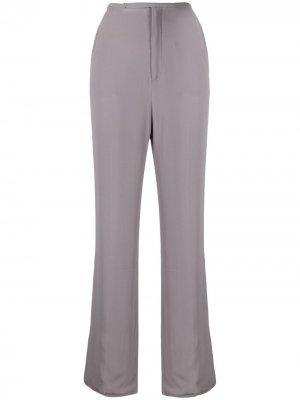 Прямые брюки с завышенной талией Nº21. Цвет: серый
