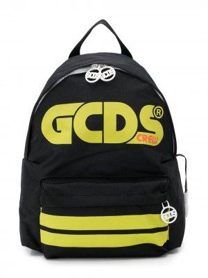 Рюкзак с логотипом Gcds Kids. Цвет: черный