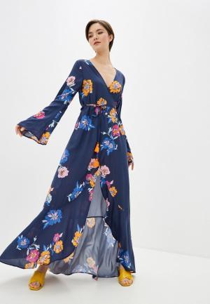 Платье пляжное Maaji. Цвет: синий