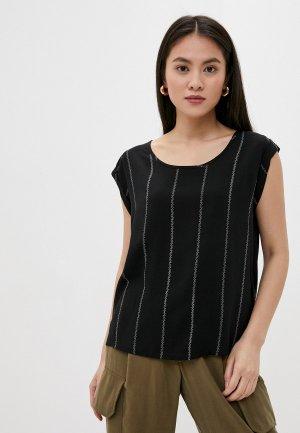 Блуза Fresh Made. Цвет: черный