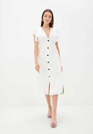 Платье Sweewe. Цвет: белый