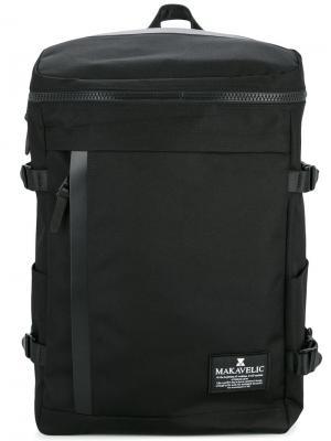 Прямоугольный рюкзак Makavelic. Цвет: черный
