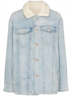 Двусторонняя куртка Cuttrell B из коллаборации с Mimi 3x1. Цвет: синий