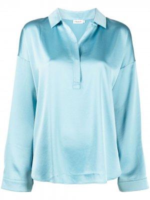 Атласная юбка Lovisa Filippa K. Цвет: синий