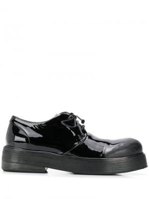 Массивные туфли дерби Marsèll. Цвет: черный