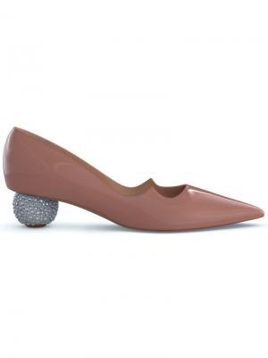 Туфли-лодочки Ankara Paul Andrew. Цвет: коричневый