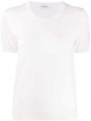 Джемпер с короткими рукавами P.A.R.O.S.H.. Цвет: белый