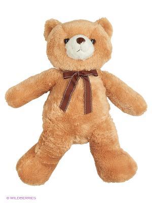 Игрушка мягкая Медведь кремовый 65 см AURORA. Цвет: кремовый