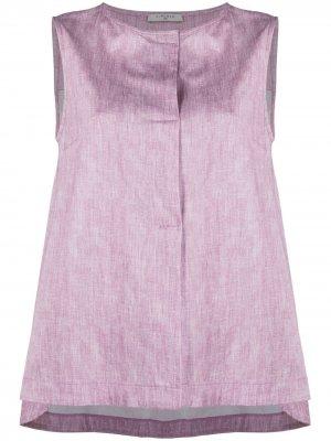 Блузка без рукавов Circolo 1901. Цвет: розовый
