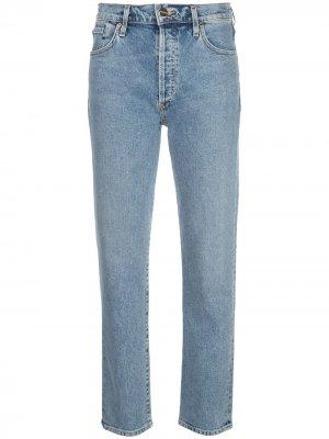 Прямые джинсы GOLDSIGN. Цвет: синий