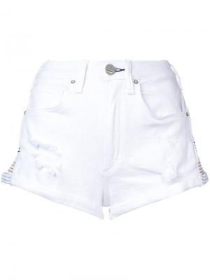 Джинсовые шорты Mcguire Denim. Цвет: белый