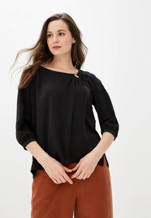 Блуза Love My Body. Цвет: черный