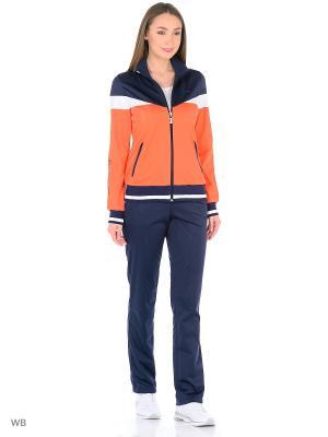 Спортивный костюм ADDIC. Цвет: оранжевый, коралловый