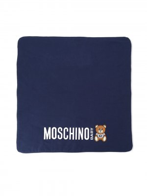 Одеяло Toy Bear Moschino Kids. Цвет: синий