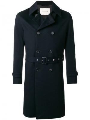 Double-breasted trench coat Mackintosh. Цвет: синий