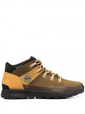 Ботинки Brooklyn Timberland. Цвет: желтый
