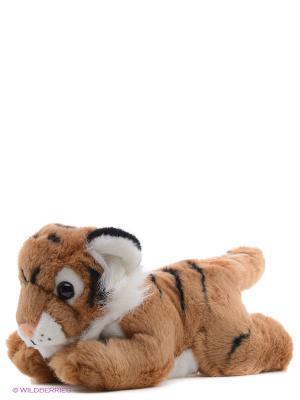 Игрушка мягкая Тигр коричневый 28 см AURORA. Цвет: коричневый