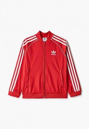 Олимпийка adidas Originals. Цвет: красный