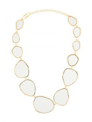 Ожерелье с подвесками Aurelie Bidermann. Цвет: золотистый
