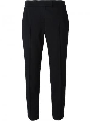 Укороченные брюки строгого кроя Akris Punto. Цвет: черный