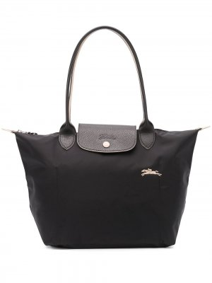 Маленькая сумка-тоут Le Pliage Longchamp. Цвет: черный