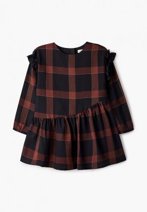 Платье Catimini. Цвет: коричневый