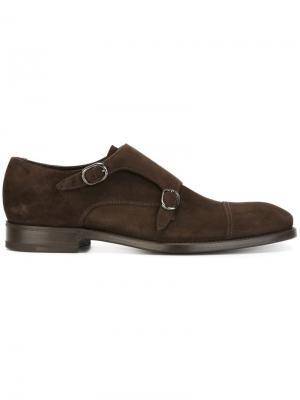 Классические туфли монки Henderson Baracco. Цвет: коричневый