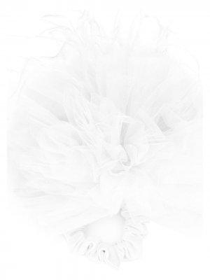 Резинка для волос из тюля Styland. Цвет: белый