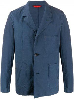 Однобортный пиджак Chore PS Paul Smith. Цвет: синий