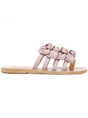 Сандалии Hara Ancient Greek Sandals. Цвет: серый