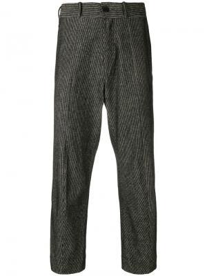 Укороченные брюки Damir Doma. Цвет: черный