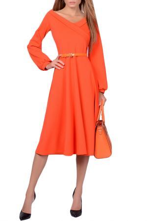 Платья FRANCESCA LUCINI. Цвет: оранжевый