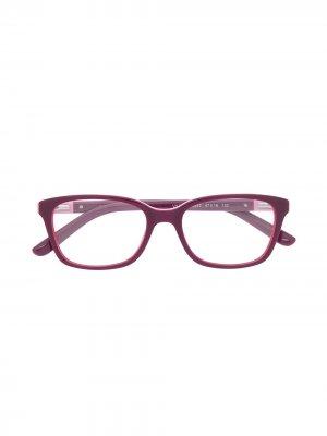 Очки в прямоугольной оправе Vogue Eyewear. Цвет: фиолетовый